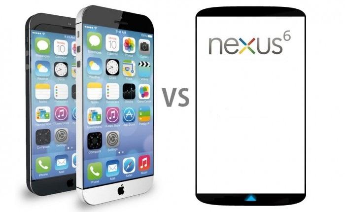iPhone 6 vs Google Nexus 6