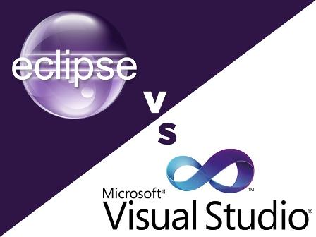 eclispe vs visual studio