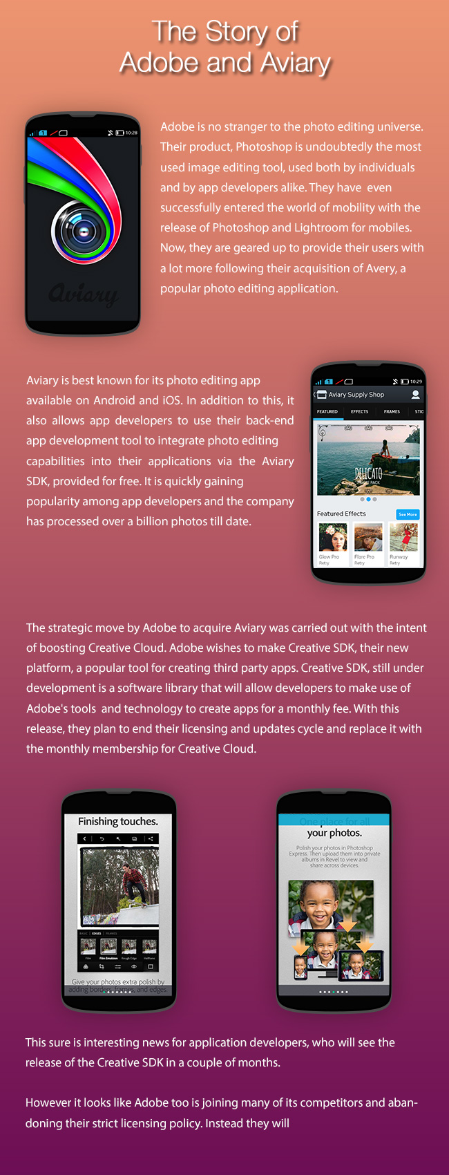 The Story of Adobe and Aviary